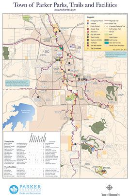 Parks and Trail Map