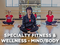 Specialty Fitness and Wellness Mind-Body Registration