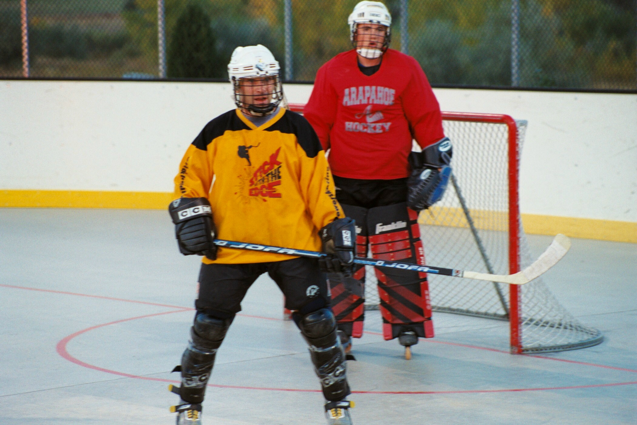 from Deshawn adult roller hockey league